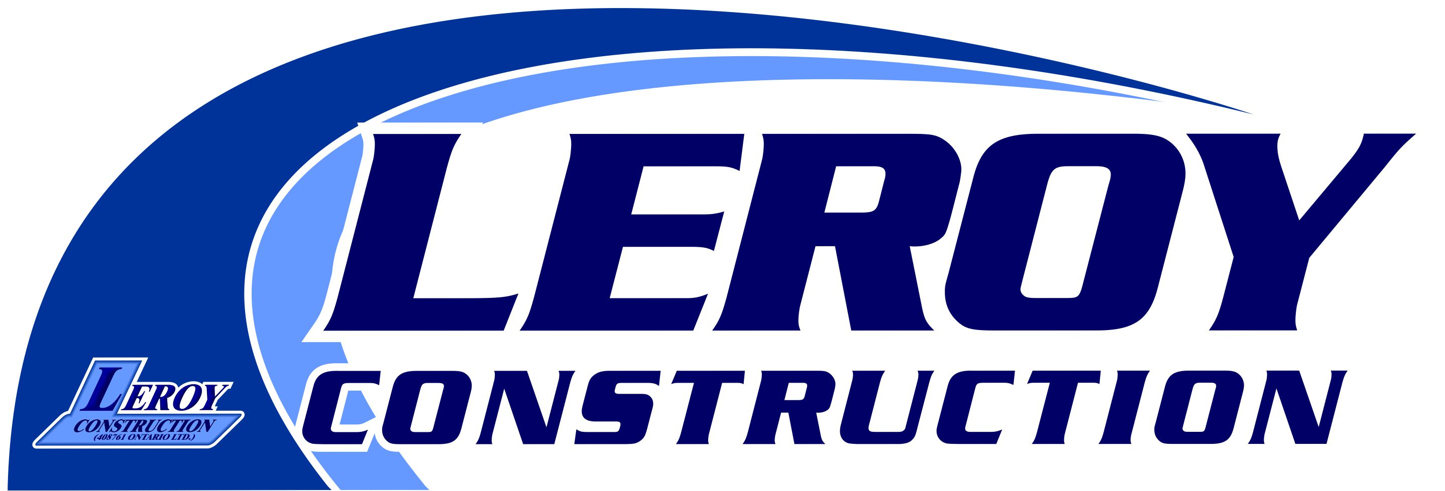 Leroy Construction - Logo